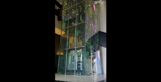 Nude Elevator_G-GLASS_Office Building_Media_Elevator